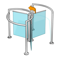 Half-height Turnstiles